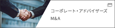 コーポレート・アドバイザーズ M&A