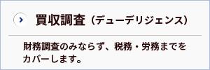 株価算定・買収調査(デューデリジェンス)